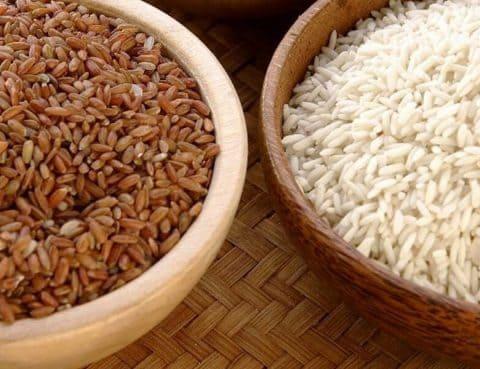 Kelebihan Nasi Merah/Putih