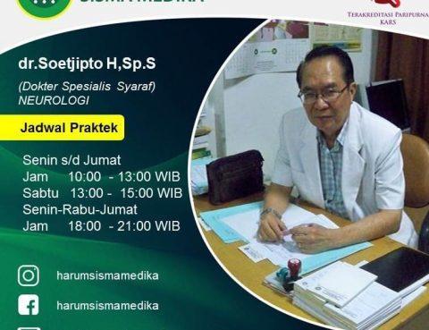"Dokter Spesialis Saya ""Neurologi"" RS Harum"