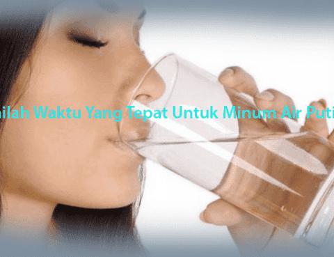 Waktu Untuk Minum Air