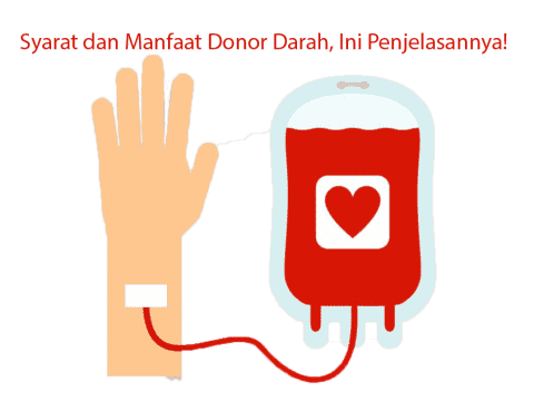 Syarat dan Manfaat Donor Darah