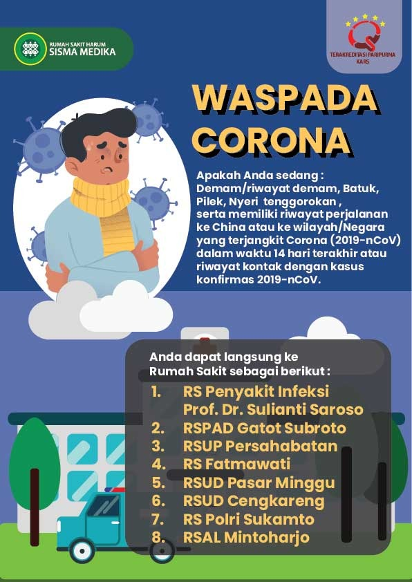 Corona Archives Rumah Sakit Harum Sismamedika