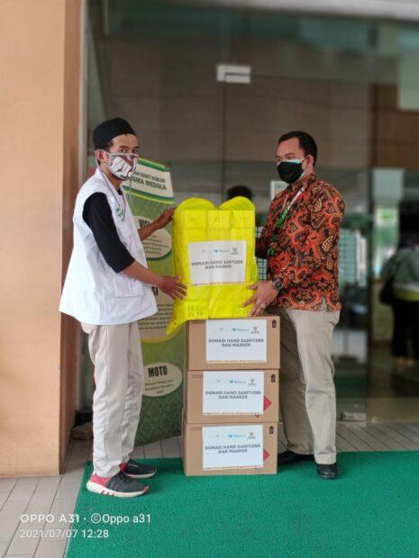 Donasi APD dari Baznas