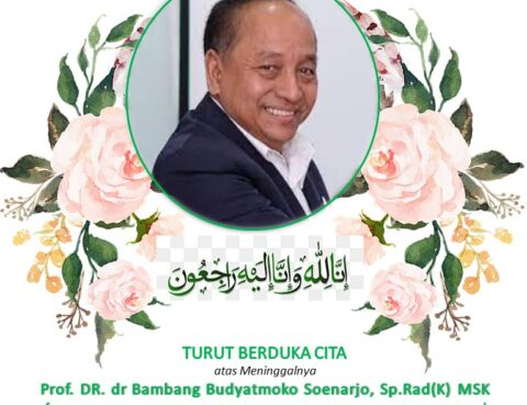 Berita Duka Atas Meninggalnya Prof. DR. dr Bambang Budyatmoko Soenarjo, Sp.Rad(K) MSK