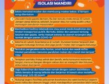 Protokol Isolasi Mandiri Covid19