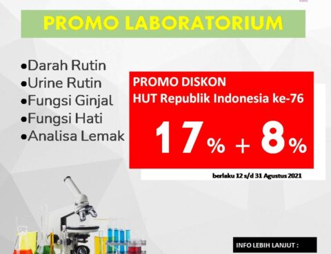 Promo Hari Kemerdekaan Laboratorium