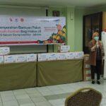 Donasi 350 Paket Buah-Buahan untuk Nakes