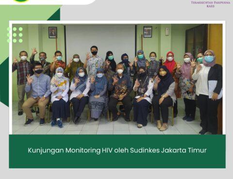 Kunjungan Monitoring HIV oleh Sudinkes Jakarta Timur