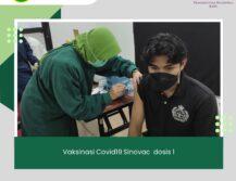Vaksinasi Sinovac Dosis 1 untuk Masyarakat Umum
